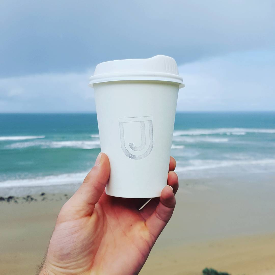 Good day in Ocean Grove. Selling watches & a free coffee from the legends at @unclejacksoceangrove! ☕