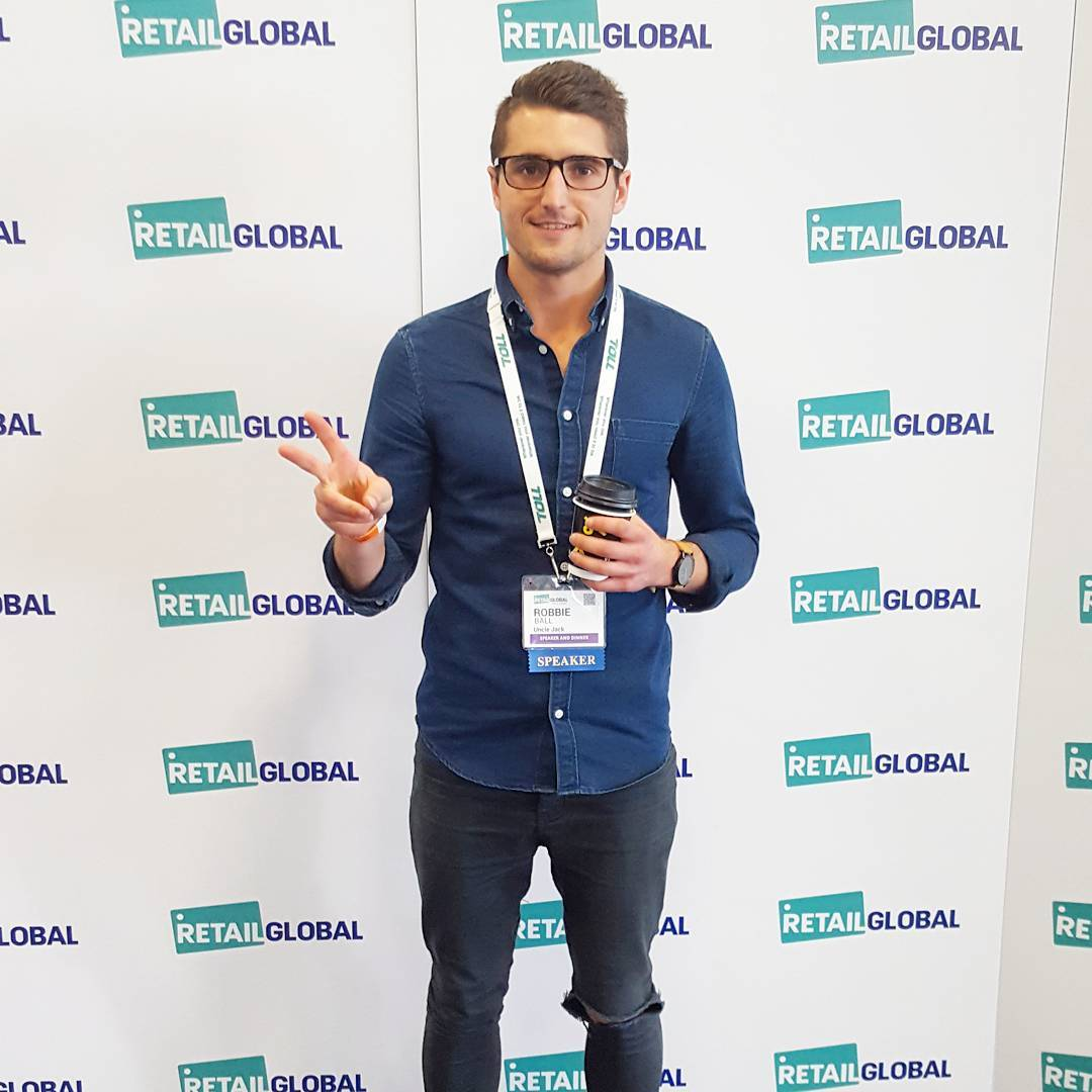 Pretty humbling to be asked to speak at a global retail conference. Thanks for having me @retail_global, we might need a bigger room next year... it was packed!